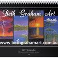 2019 Beth Graham Art Calendar