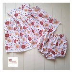Sunshine and Butterflies Dress and Bloomer Set