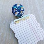 Liberty Daisies Magnetic Bulldog Clip