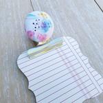 Dreamy Floral Magnetic Bulldog Clip