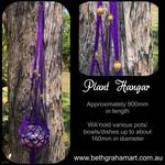 Plant Hangar - Purple - Free postage