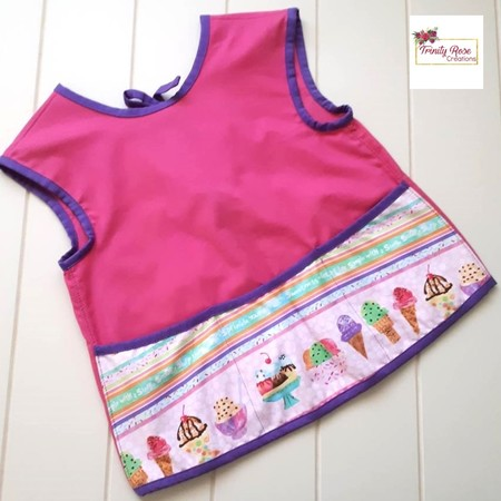 Summer Icecream Pink Children's Apron