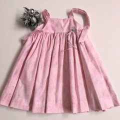 Sizes 3 and 8  - 'Pink Sparkles' Christmas Party Dress
