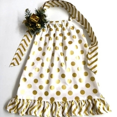 Size 3 - 'Gold Spots' Christmas Dress