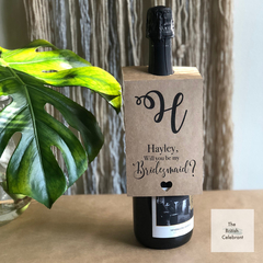 Bridesmaid Wine Label | Wine Label | Personalised wine label