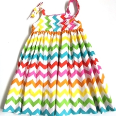 Size 6 - 'Zig Zag' Party Dress