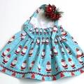 Sizes 1 - 'Santa' Christmas Dress