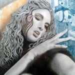 """""""Cry Me A River"""" - Original Artwork 40cm x 50cm"""