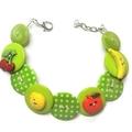 Button bracelet - Fruity Fiesta