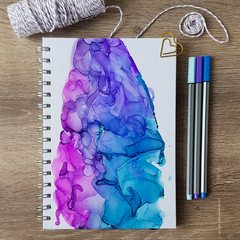 Amethyst Notebooks - journal - diary