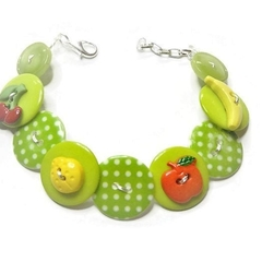 Button bracelet - Fruity Fiesta