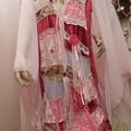 Pink Fairytale Wedding Patchwork Coat ~ OOAK - Size 16 - 18