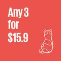 Cute Christmas Cards, Any 3 for 15.9, Australian Animals,  Santa, Australian Gre