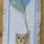 Bear with 3 Balloons Bookmark