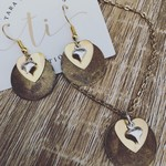 Rustic Heart Jewellery Set