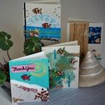 Gift Tin Card Making kit- Makes 8 Coastal Creation Themed cards