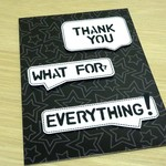 Thank you card - text message