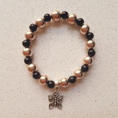 Rose Gold Butterfly Bracelet