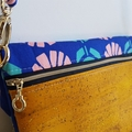 Retro floral Heidi clutch/bag