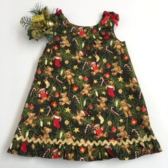 "Size 1 - ""Christmas Bears"" Dress"