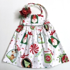 "Size 3 - ""Santa and Baubles"" Christmas Dress"
