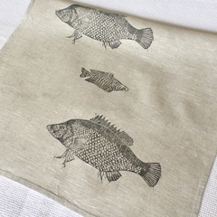 Australian native fish tea towel / kitchen gift