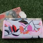 Grey Gum blossom wallet