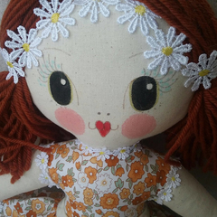Poppy Autumn doll | handmade with love FREE STANDARD POSTAGE
