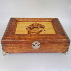 Emu jewellery box