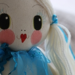 Ella Mermaid Doll | Handmade with love