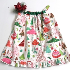 "Size 5 - ""Xmas Candy"" Christmas Dress"