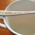Teachers Change Lives,Teacher Gift,Teacher Thank you, Hand Stamped Spoon,