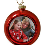 Personalised Photo Baubles for Christmas - order now