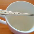 Godfather`s Tea  Christening gift, baptism, Godmother,Communion,Godparent gift,