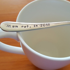 Mum established in 2018, First Mother`s  Day,Mother`s Day Gift, Mum Present.