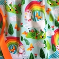 "Size 6 - ""Rainbow Unicorns"" Party Dress"