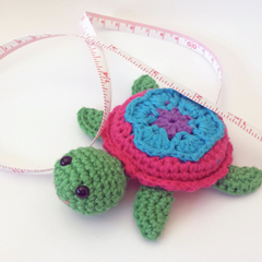 Measuring Tape - Pink Turtle - Ready to Post