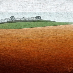 Open Fields, Freedom, Nature Lovers Print, Tasmanian Coast, Coastal Landscape