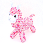 'Audrey' the Sock Alpaca - pink lilac and cream - *READY TO POST*