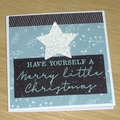 Set 7 beautiful Christmas cards - different designs - ONLY 1 SET LEFT!!