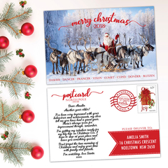 Personalised Postcard/Letter from Santa