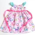 "Size 5 - ""Unicorn Wonderland"" Party Dress"