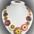 Daisy button necklace -  Daisy Chain