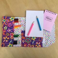 Flower Power Pencil Wallet, pencil case