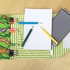 TMNT Pencil Wallet, pencil case