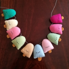 Mini Kawaii Icecream Garland - Free shipping!