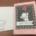 Elephan Birthday Card - free postage