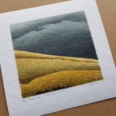 Australian art print, modern landscape, storm painting, Limited Edition