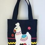 Child's handbag – tote style – llama