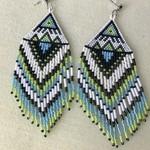 Native style Fringe Drop Earrings